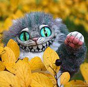 Куклы и игрушки ручной работы. Ярмарка Мастеров - ручная работа Чеширский кот 25 см. Handmade.