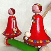 Куклы и игрушки handmade. Livemaster - original item Wooden toy Girl. Handmade.