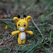 Куклы и игрушки handmade. Livemaster - original item Little giraffe crocheted. Handmade.