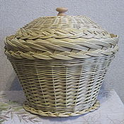 Для дома и интерьера handmade. Livemaster - original item A basket of willow twigs. Handmade.