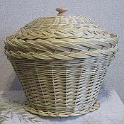 Для дома и интерьера ручной работы. Ярмарка Мастеров - ручная работа Корзина для кухни из ивовой лозы. Handmade.