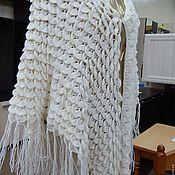 Одежда ручной работы. Ярмарка Мастеров - ручная работа Шаль Ракушка. Handmade.