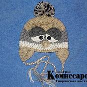 """Работы для детей, ручной работы. Ярмарка Мастеров - ручная работа шапка """"Сонная птичка"""". Handmade."""