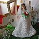 Коллекционные куклы ручной работы. Заказать Свадебный экипаж (миниатюра). Лариса Исаева (kuklaelli). Ярмарка Мастеров. Конный экипаж