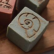"""Косметика ручной работы. Ярмарка Мастеров - ручная работа """"Голубой шелк"""" мыло приготовлено по старинным рецептам. Handmade."""