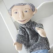 """Куклы и игрушки ручной работы. Ярмарка Мастеров - ручная работа Театральная кукла на руку """"Мастер на все руки"""". Handmade."""