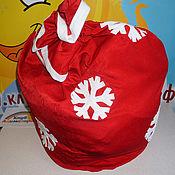 Сувениры и подарки handmade. Livemaster - original item Gift bag for Santa Claus. Handmade.