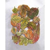 Посуда handmade. Livemaster - original item Openwork dish Autumn leaves 35h25 cm. Handmade.