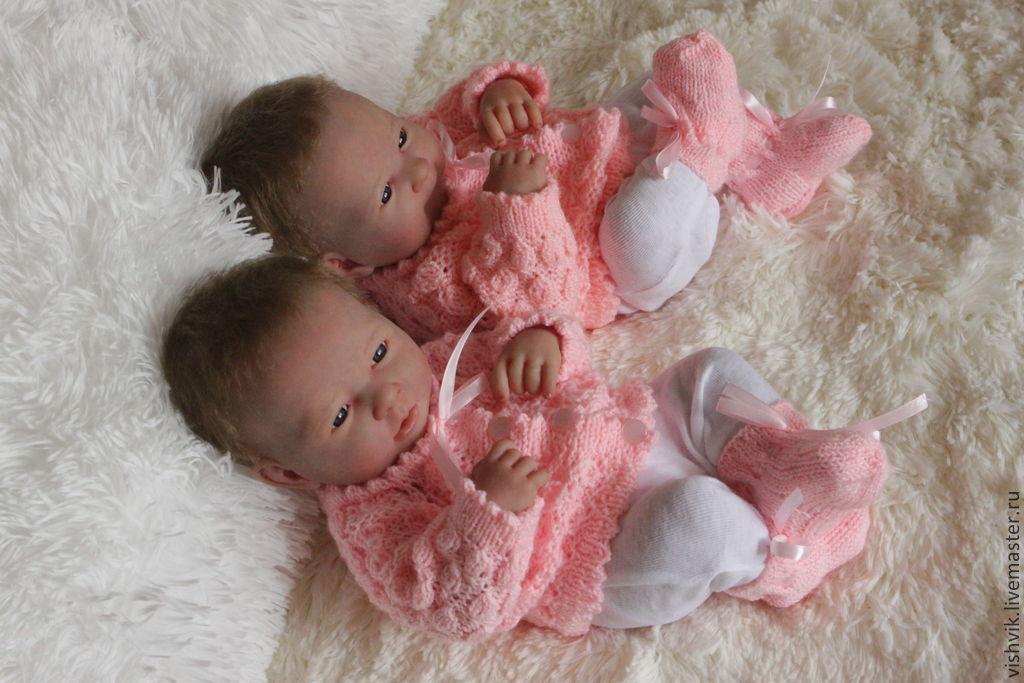 Куклы реборн близняшки