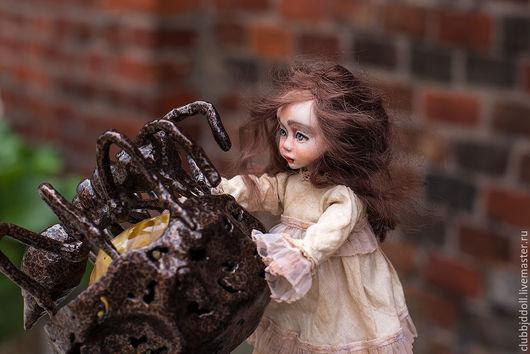 Коллекционные куклы ручной работы. Ярмарка Мастеров - ручная работа. Купить Шарнирная кукла из Flumo  рост 19 см. Handmade.