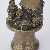 Сувениры и подарки handmade. Livemaster - original item Bronze bell Post traffic police. Handmade.