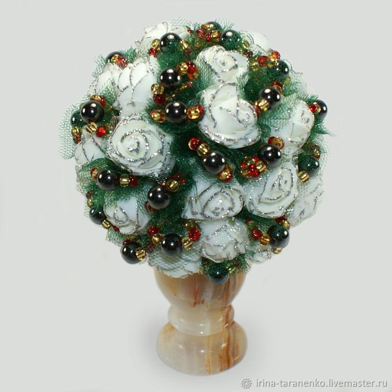 Цветы из гематита `Успех`