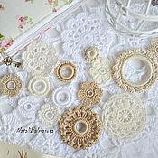 Материалы для творчества handmade. Livemaster - original item A set of knitted items