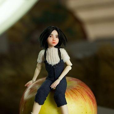 Куклы и игрушки ручной работы. Ярмарка Мастеров - ручная работа Little Severus   шарнирная кукла 1/12. Handmade.