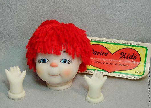 Куклы и игрушки ручной работы. Ярмарка Мастеров - ручная работа. Купить Головка куклы с ручками для творчества. Handmade. Заготовки для творчества