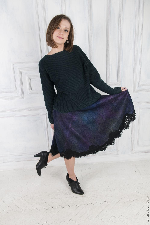 Felted skirt Pavlin-mavlin, Skirts, Moscow,  Фото №1
