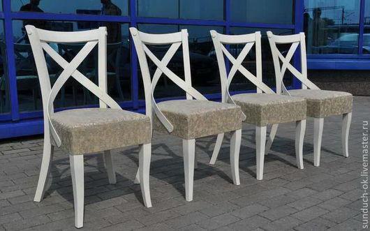 Мебель ручной работы. Ярмарка Мастеров - ручная работа. Купить Стулья. Handmade. Серый, стулья, стулья в столовую, стулья в гостиную