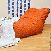 """Для дома и интерьера ручной работы. Ярмарка Мастеров - ручная работа Кресло-лежак """"Оранжевое настроение"""". Handmade."""
