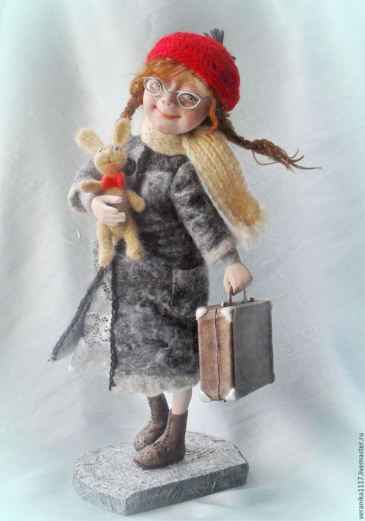 """Коллекционные куклы ручной работы. Ярмарка Мастеров - ручная работа. Купить Авторская кукла  """"За мечтой!.."""". Handmade."""