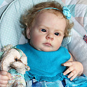Куклы и игрушки handmade. Livemaster - original item Reborn doll Masha from mold Michael from Natalie Blick.. Handmade.