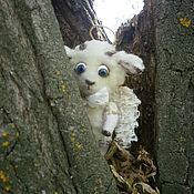 """Куклы и игрушки ручной работы. Ярмарка Мастеров - ручная работа Овечка """"Бяша"""". Handmade."""