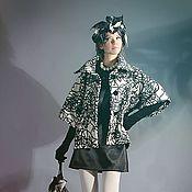 Одежда ручной работы. Ярмарка Мастеров - ручная работа Пальто с цельнокроеным рукавом из натуральный шерсти. Handmade.