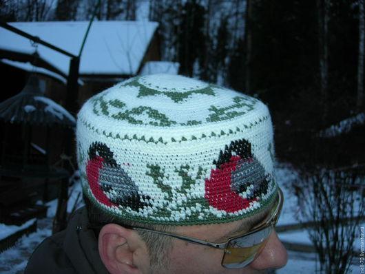 """Для мужчин, ручной работы. Ярмарка Мастеров - ручная работа. Купить Шапка """"Зима-2"""". Handmade. Комбинированный, шапка вязаная"""