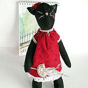 Куклы и игрушки ручной работы. Ярмарка Мастеров - ручная работа Кошечка Тильда. Handmade.