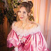 Одежда ручной работы. Ярмарка Мастеров - ручная работа Платье бидермайер бальное. Handmade.