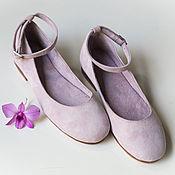 Обувь ручной работы handmade. Livemaster - original item Varina suede natrualnym. Handmade.