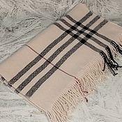 Аксессуары handmade. Livemaster - original item Scarves: Handmade woven scarf made of Italian merino yarn. Handmade.