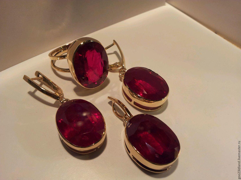 Купить Кольцо с рубином в ювелирном магазине МАГИЯ ЗОЛОТА Беларусь
