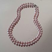 Украшения handmade. Livemaster - original item Pearl. Necklace of pink pearls