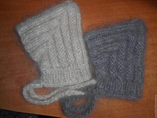 Шапки ручной работы. Ярмарка Мастеров - ручная работа. Купить Пуховые шапочки для новорожденных от 0 до 6 месяцев. Handmade. Шапочка