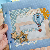 Подарки к праздникам ручной работы. Ярмарка Мастеров - ручная работа Книга пожеланий с воздушным шаром, книга пожеланий детская. Handmade.