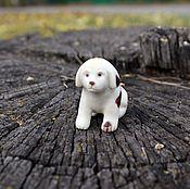 Для дома и интерьера handmade. Livemaster - original item Puppy.Miniature.Carved bone. Handmade.