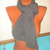 """Аксессуары ручной работы. Ярмарка Мастеров - ручная работа Шарф """"grey scarf"""". Handmade."""