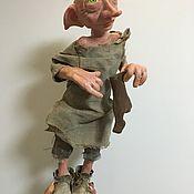 """Куклы и игрушки ручной работы. Ярмарка Мастеров - ручная работа """"О,милый Добби """"или домашний эльф. Handmade."""