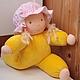 Вальдорфская кукла Васильковая Зайка 31  см .Julia Solarrain (SolarDolls) Ярмарка Мастеров