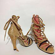 Обувь ручной работы. Ярмарка Мастеров - ручная работа Босоножки Марсель. Handmade.