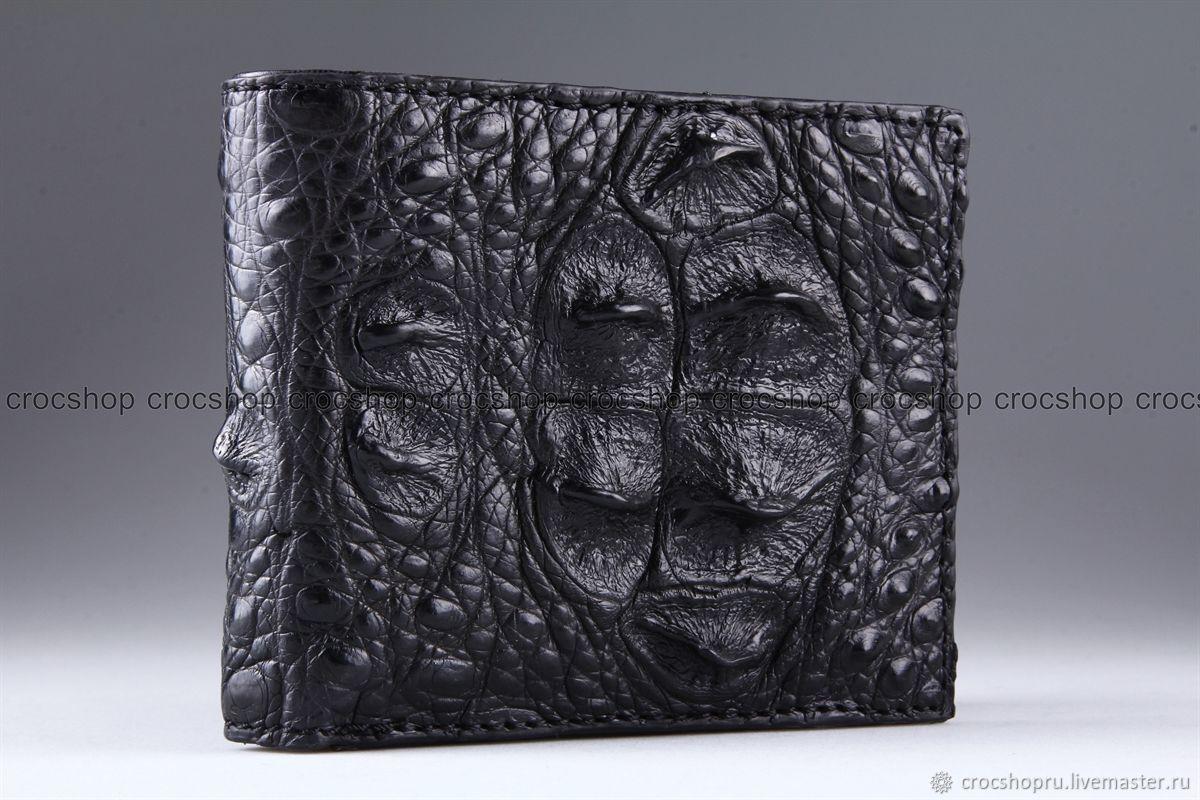 Wallet crocodile leather IMA0225B11, Wallets, Moscow,  Фото №1