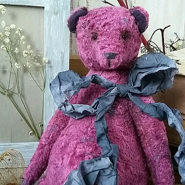 Куклы и игрушки ручной работы. Ярмарка Мастеров - ручная работа Тедди медведь. Handmade.
