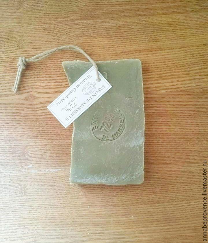 Оливковое марсельское мыло на веревочке, Фурнитура, Экс-ан-Прованс,  Фото №1