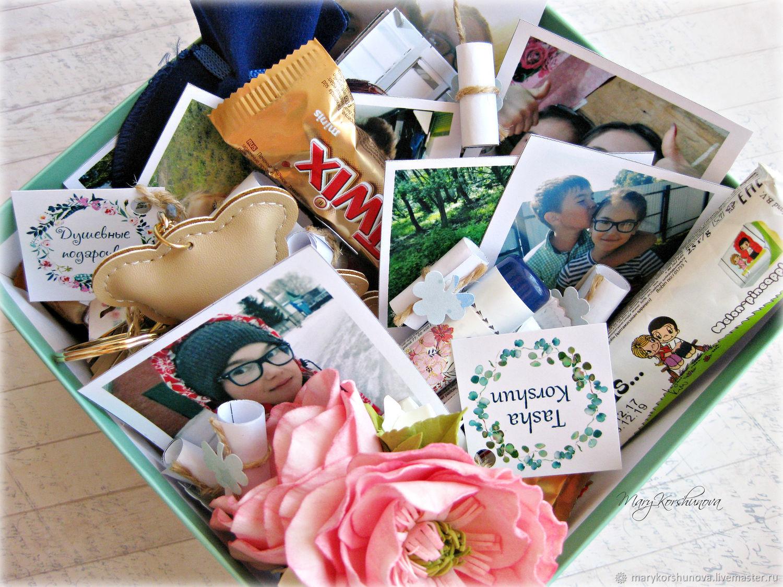 Подарочные наборы ручной работы. Ярмарка Мастеров - ручная работа. Купить Коробка - сюрприз 'С Днем рождения, сестренка'. Handmade.