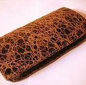Сумки и аксессуары handmade. Livemaster - original item Wallet genuine leather Vintage. Handmade.