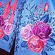 Dress embroidered 'Roses' Boho. Dresses. Individual vyshivanka. (oksanetta). My Livemaster. Фото №4