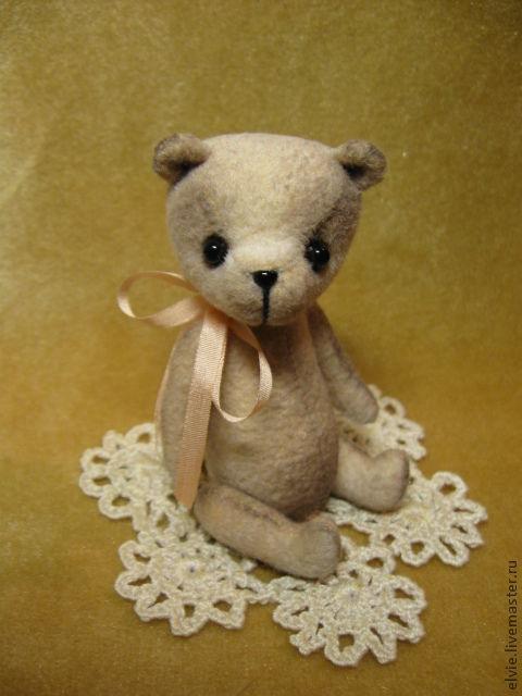 Мишки Тедди ручной работы. Ярмарка Мастеров - ручная работа. Купить Мишка.. Handmade. Бежевый, авторские мини мишки