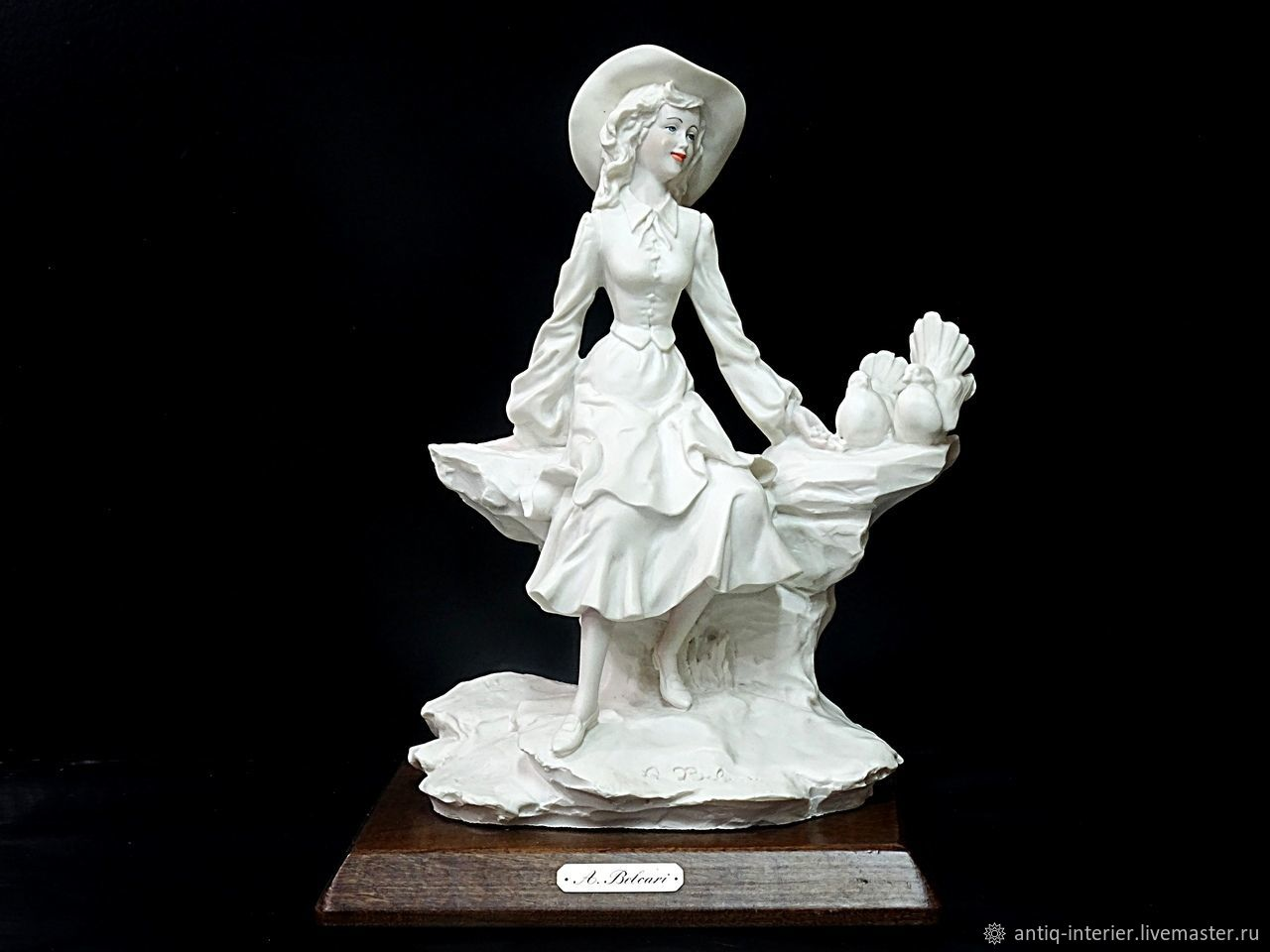 Collectible porcelain sculpture, Vintage interior, Kaliningrad,  Фото №1