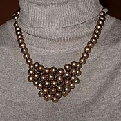 "Украшения handmade. Livemaster - original item Necklace ""Copper balls"". Handmade."