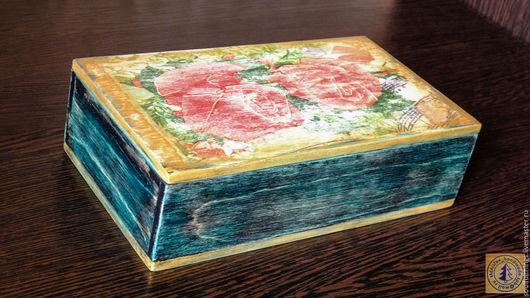 Шкатулки ручной работы. Ярмарка Мастеров - ручная работа. Купить Шкатулка «Розы для маэстро». Handmade. Шкатулка, шкатулка ручной работы